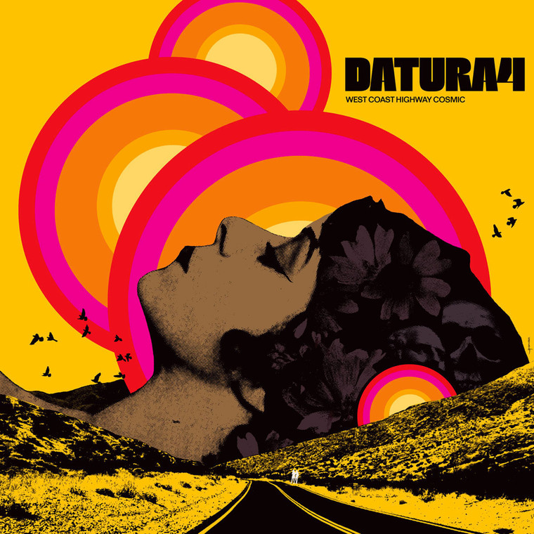 DATURA4  -WEST COAST HIGHWAY COSMIC(psyched-out blues rock 70s style )BLACK VINYL LP