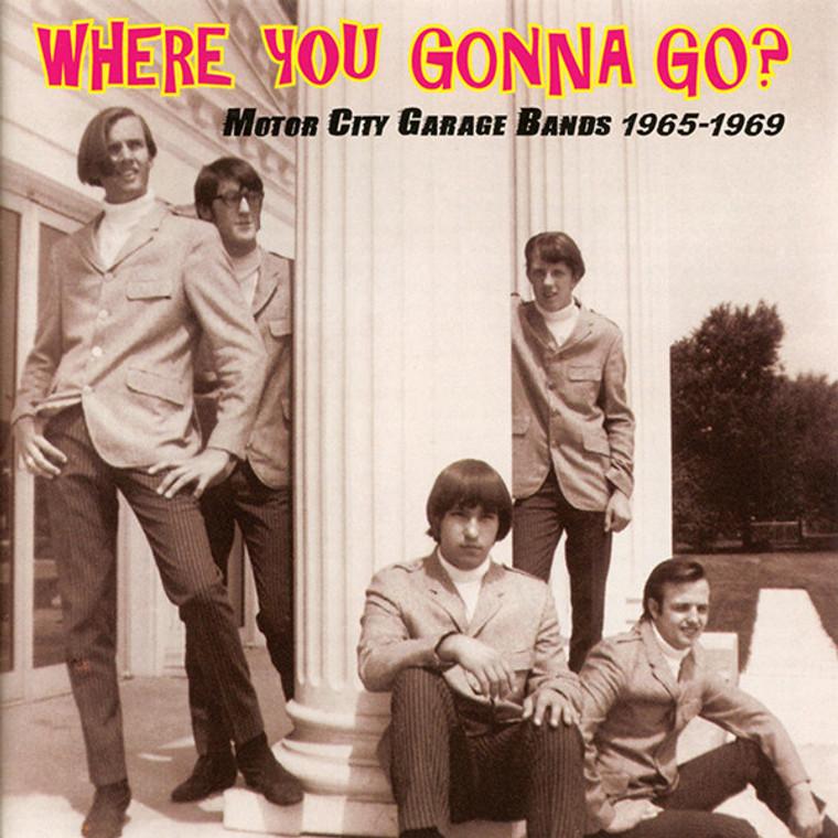 UNRELATED SEGMENTS  -Where You Gonna Go (66-75 Michigan proto hard rock)  CD