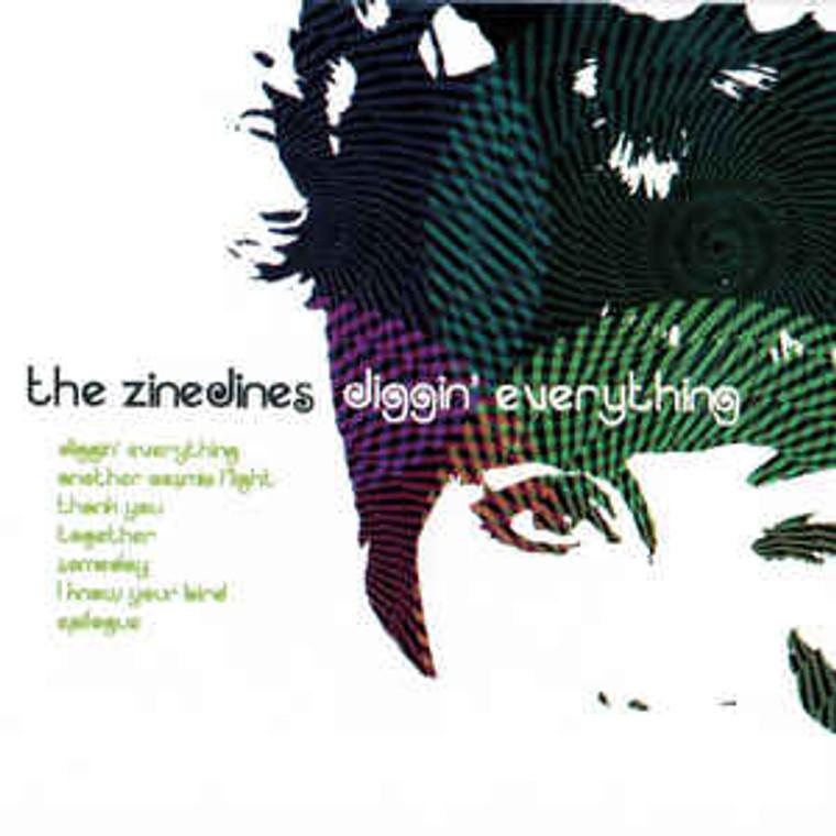 ZINEDINES   - DIGGIN EVERYTHING   ( Zombies/ Beatles style  power pop Spanish import )    CD