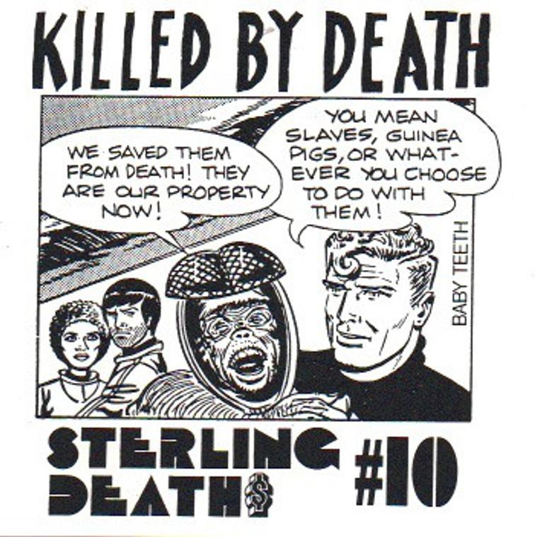 KILLED BY DEATH Vol 10  Raw Rare Punk Rock 77-82-  COMP CD