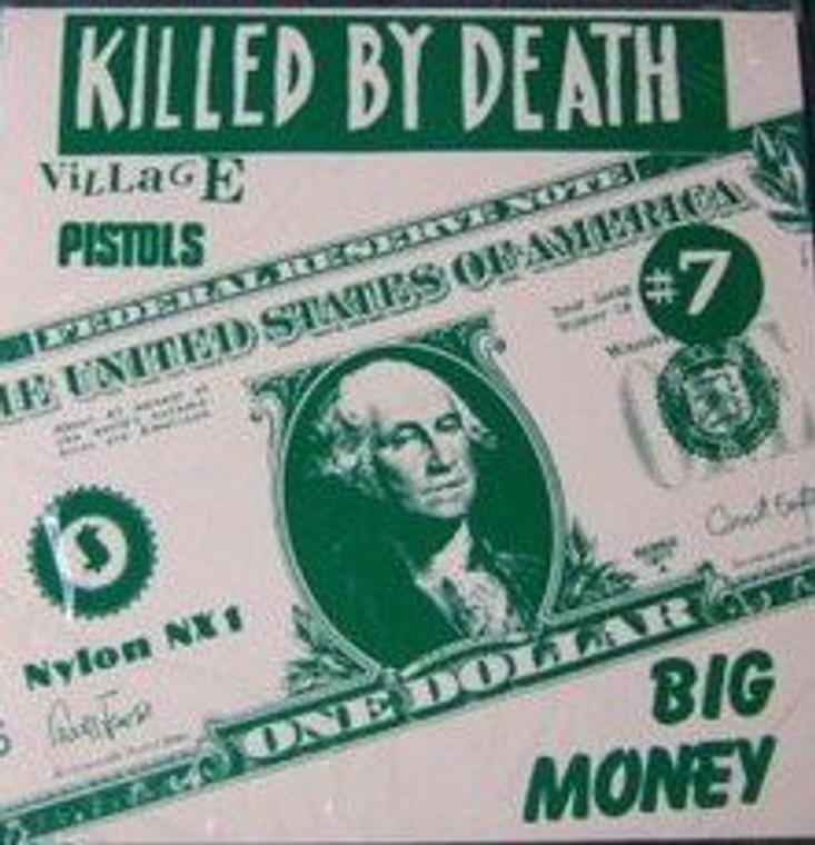 KILLED BY DEATH Vol 7  -Raw Rare Punk Rock 77-82-  COMP CD