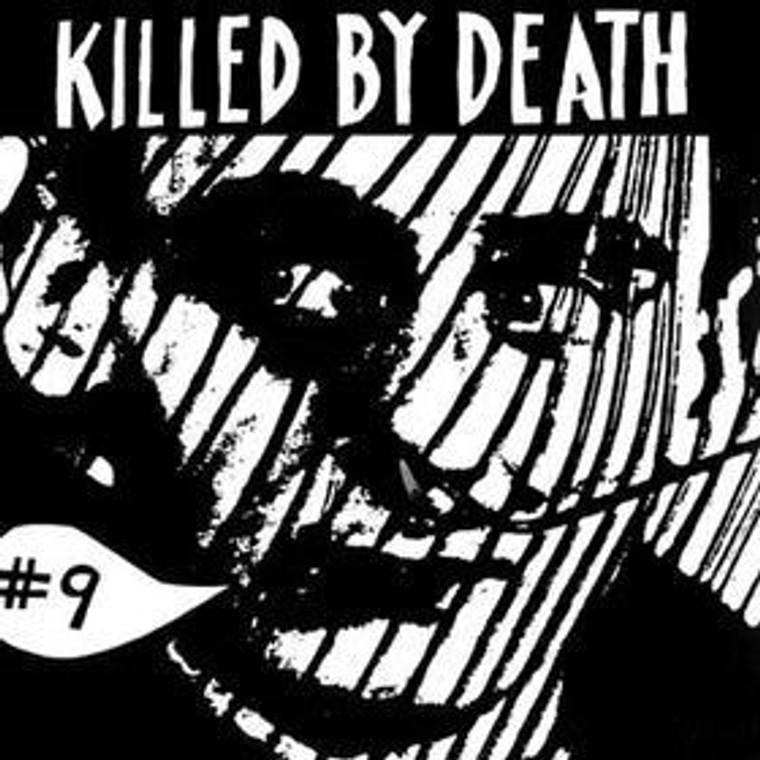 KILLED BY DEATH Vol 9  Raw Rare Punk Rock 77-82-  COMP CD
