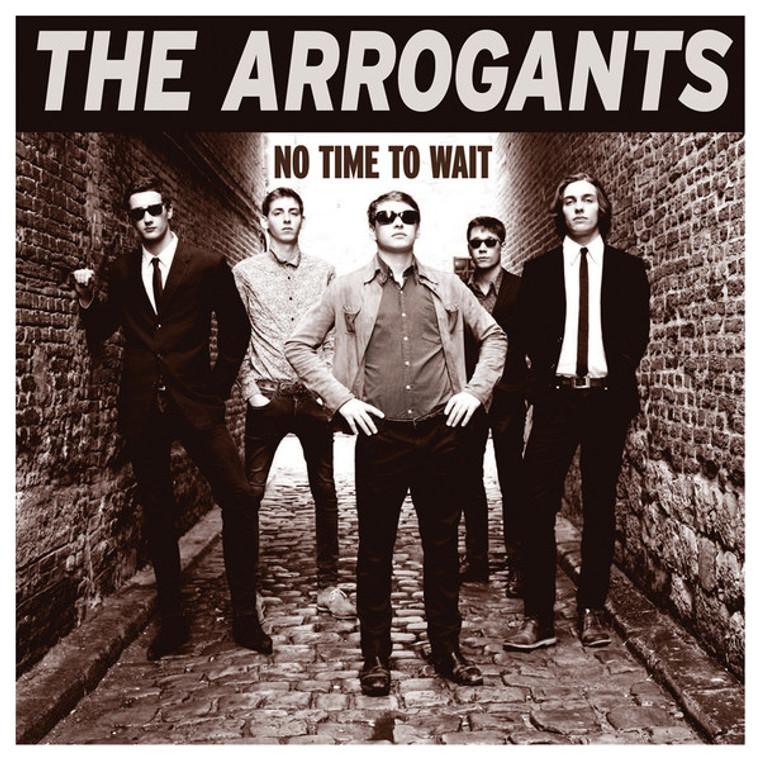 ARROGANTS   - No Time to Wait (Wild Garage psych)  SALE! LP