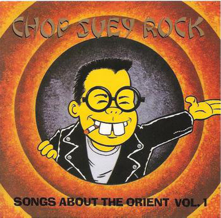 CHOP SUEY ROCK Vol 1  -CRAZY ORIENT-INSPIRED 50'S + 60'S R&R SONGS-  COMP CD