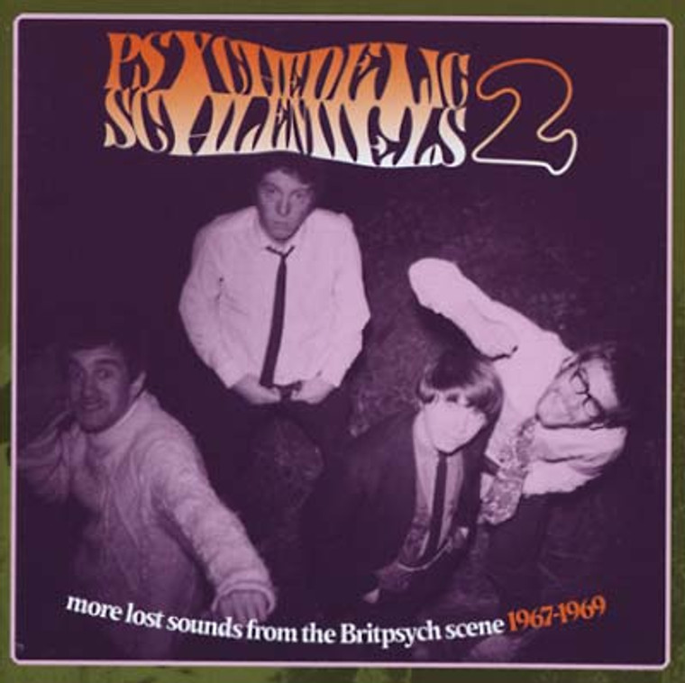 PSYCHEDELIC SCHLEMIELS  -Vol 2  More Lost Sounds (late Sixties British psych)  COMP CD