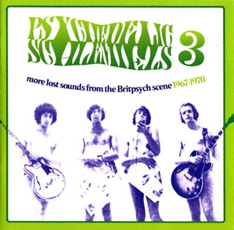 PSYCHEDELIC SCHLEMIELS  VOL. 3 -From The Brit psych Scene 1967-1970-  COMP CD