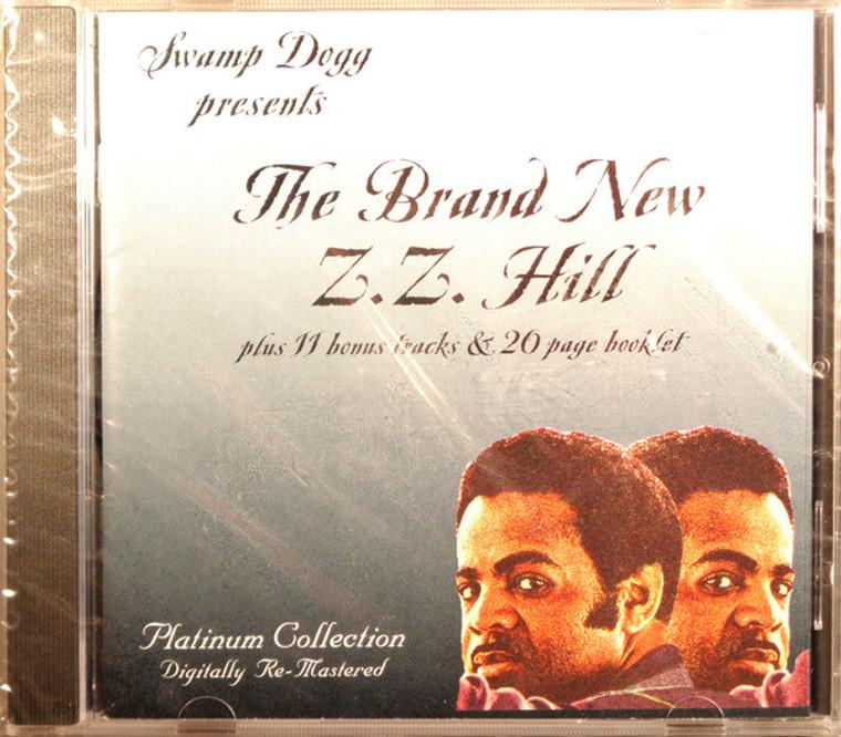 ZZ HILL- Brand New    - SWAMP DOGG PRESENTS  -CD