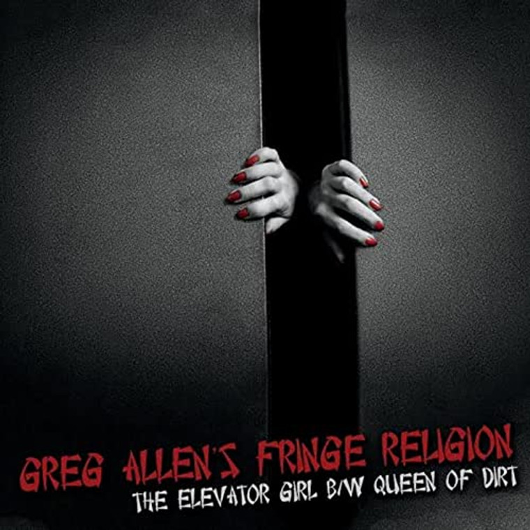 ALLEN, GREG'S Fringe Religion   - Elevator Girl/Queen of ARt (Hard Rock NY DOlls/THUNDERS related)  CD