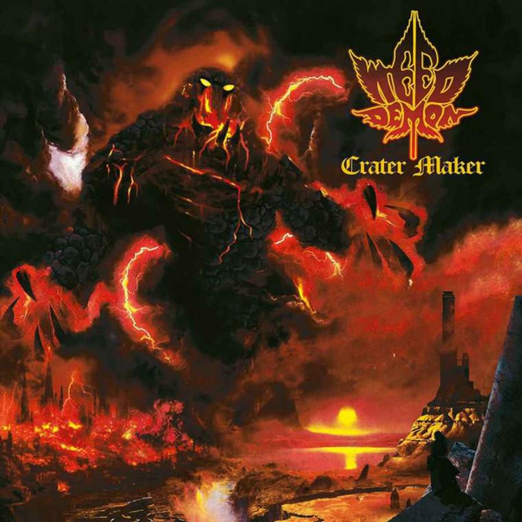 WEED DEMON -CRATER MAKER (stoner rock) GOLD VINYL  LP