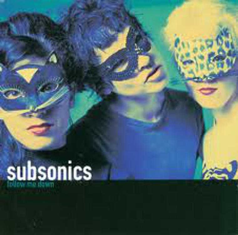 SUBSONICS   -Follow Me Down (Cramps-esque)  CD