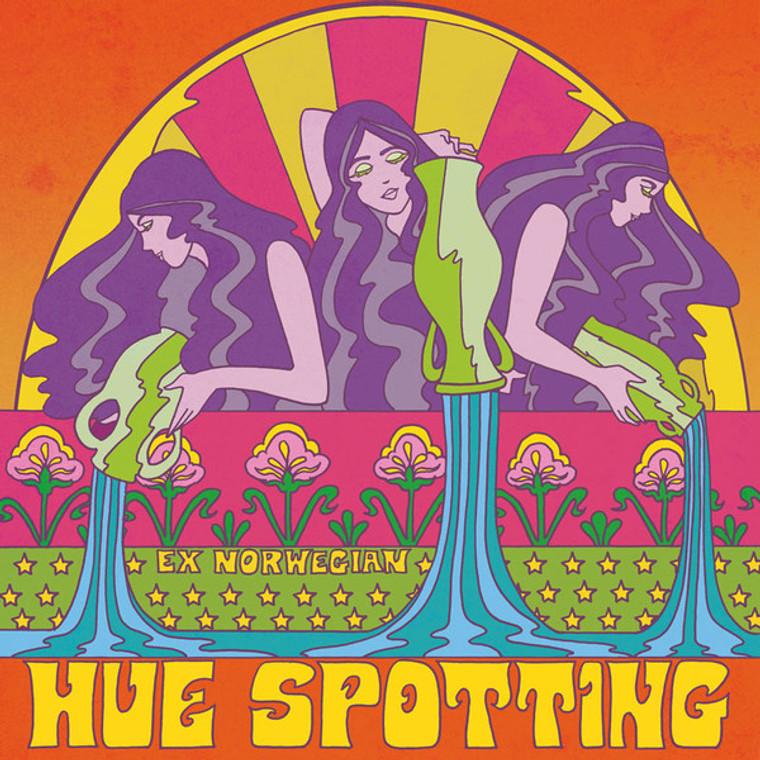 EX NORWEGIAN  -Hue SPotting( POWER POP PSYCH)  LP
