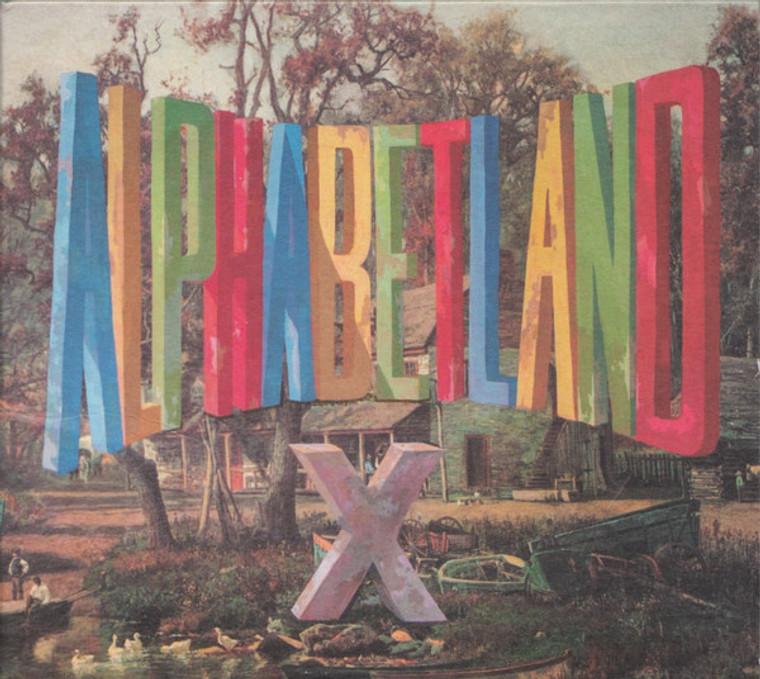 X- ALPHABETLAND (new LP from punk rock icons) BLUE VINYL  LP
