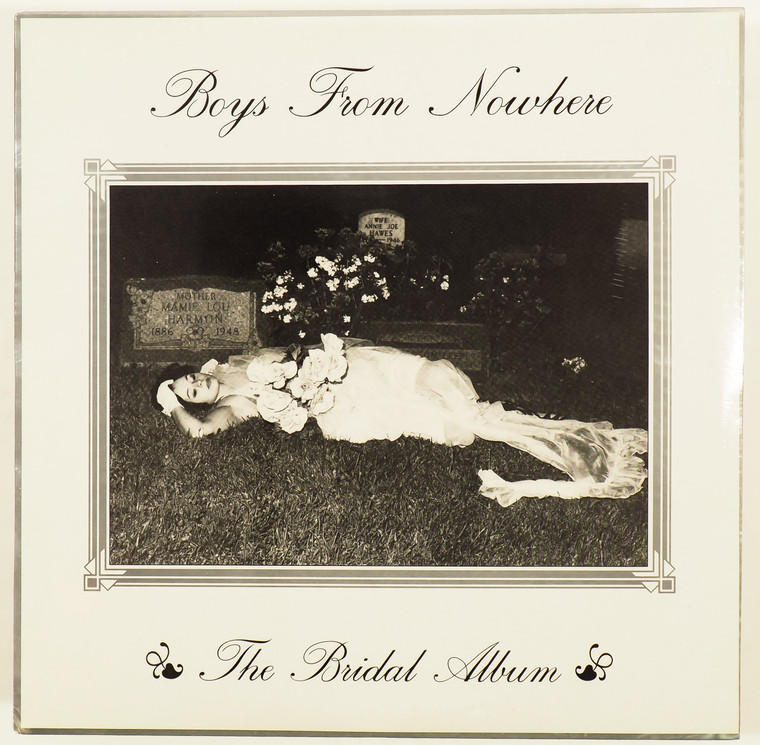 BOYS FROM NOWHERE  -BRIDAL ALBUM  (80s garage w Lyres member) CD