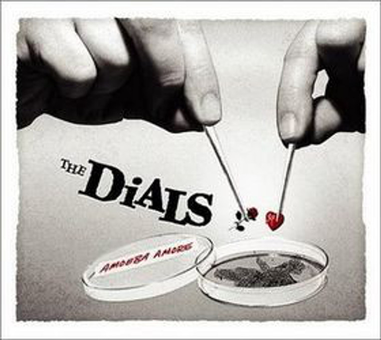 DIALS  -AMOEBA AMORE(60s girl-group/ 80s power pop-gone-Devo style )CD