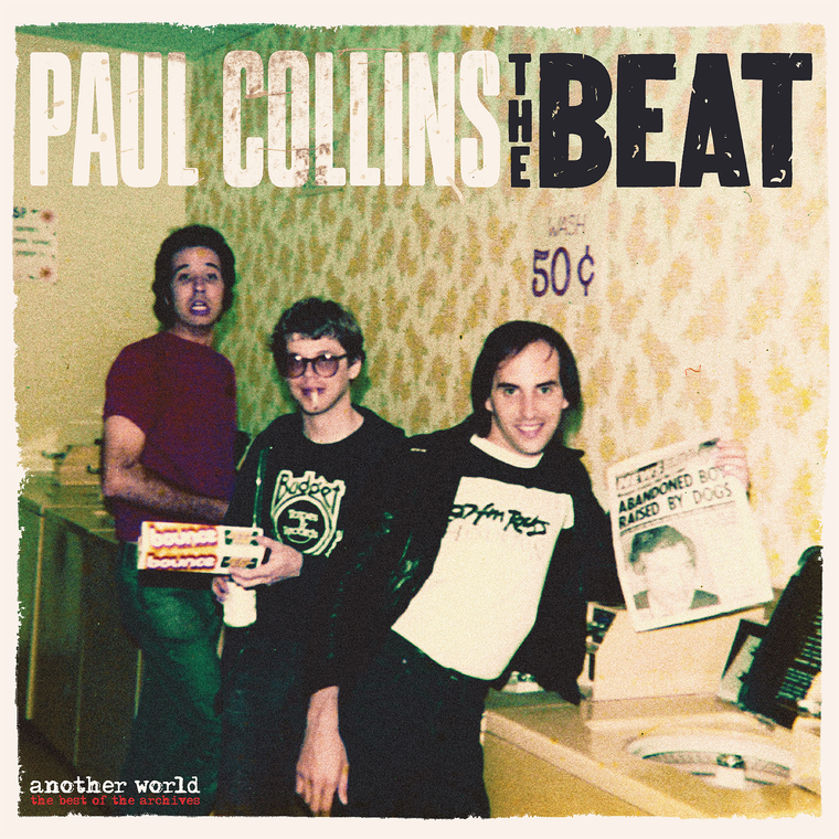 COLLINS, PAUL (NERVES) & THE BEAT - Another World- Best of the Archives-  BLACK VINYL LP