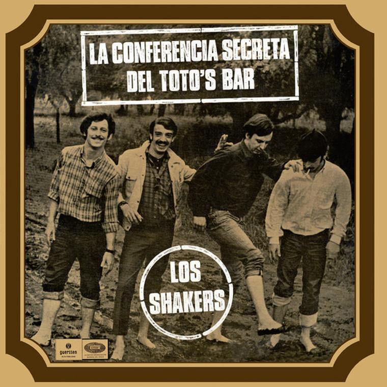 LOS SHAKERS   -La Conferencia Secreta Del Toto's Bar- LP