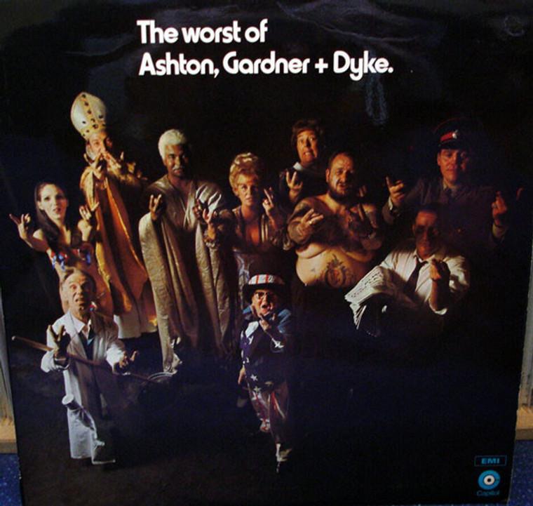ASHTON,GARDNER & DYKE  -THE WORST OF ASHTON, GARDNER & DYKE (70s Brit power rock trio)  CD