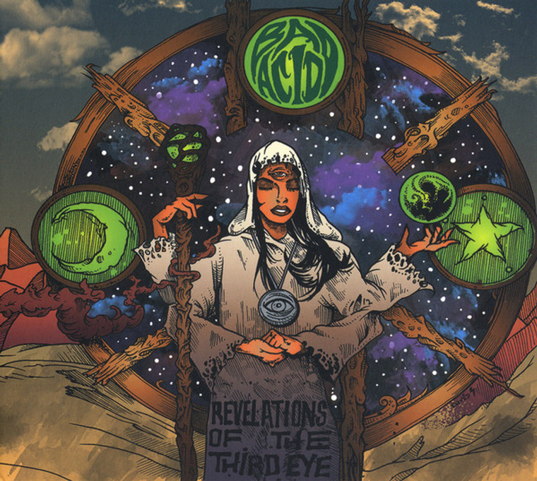 BAD ACID  - Revelations Of The Third Eye (Heavy Psych/Occult Rock )SALE!   CD