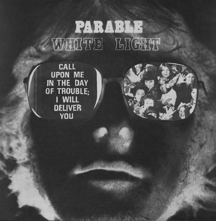 WHITE LIGHT (UK) PARABLE (private press garage psych 1974) LP