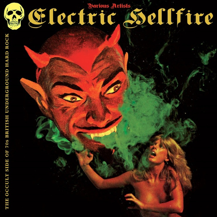 ELECTRIC HELLFIRE  -THE OCCULT SIDE OF 70'S BRITISH UNDERGROUND HARD ROCK-  COMP LP