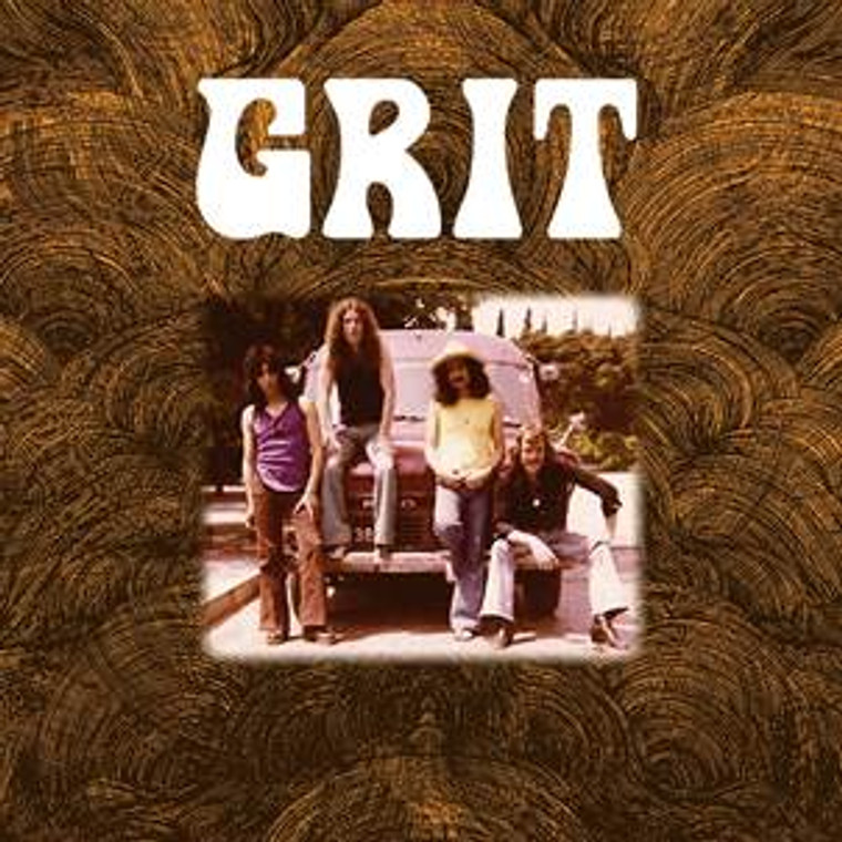 GRIT  -ST (1972 ultra rare psych/hard rock) LP