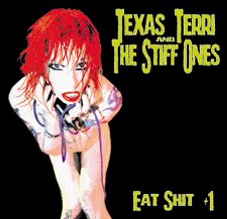 TEXAS TERRI   - Eat Shit &1 (West coast punk) CD