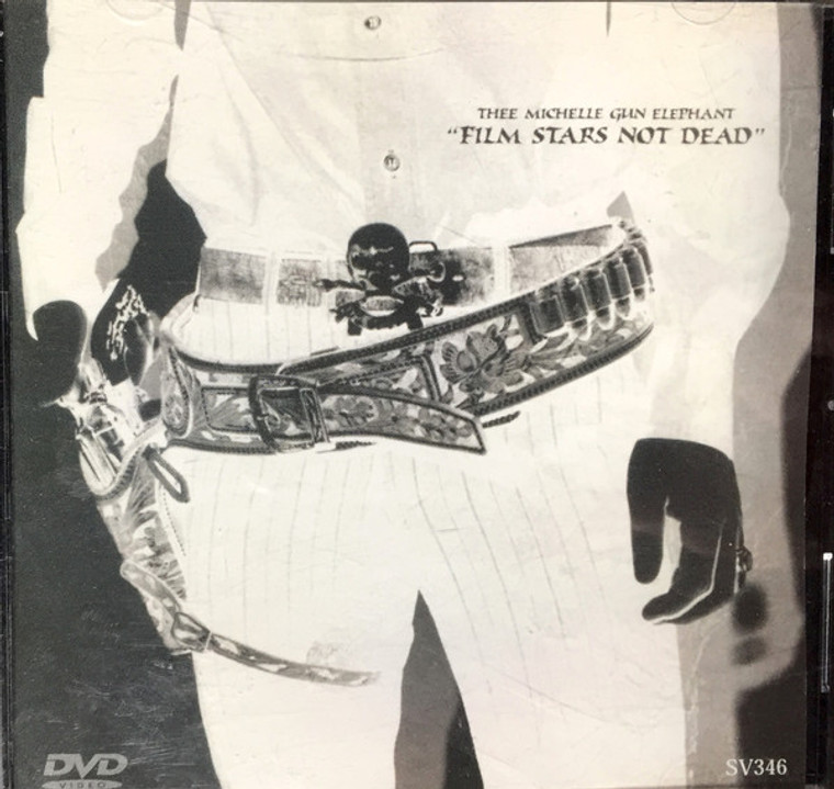 THEE MICHELLE GUN ELEPHANT-Film Stars Not Dead (Japanese cult rock and rollers IYL Who, Iggy,Ramones ) RARE  DVD