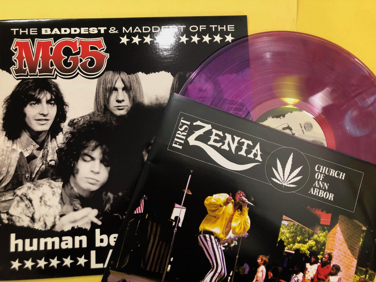 MC5   - Human Being Lawnmower / The Baddest & Maddest Of The MC5 -  LP