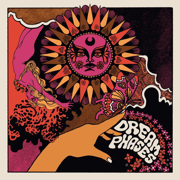 DREAM PHASES  -HELEN HIGHWAY (60s style garage psych ala Byrds, Gary Numan, paisley underground) 45 RPM