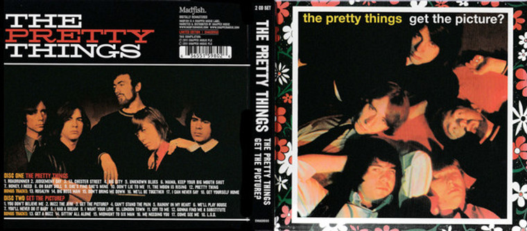 PRETTY THINGS  -GET THE PICTURE- digipak CD