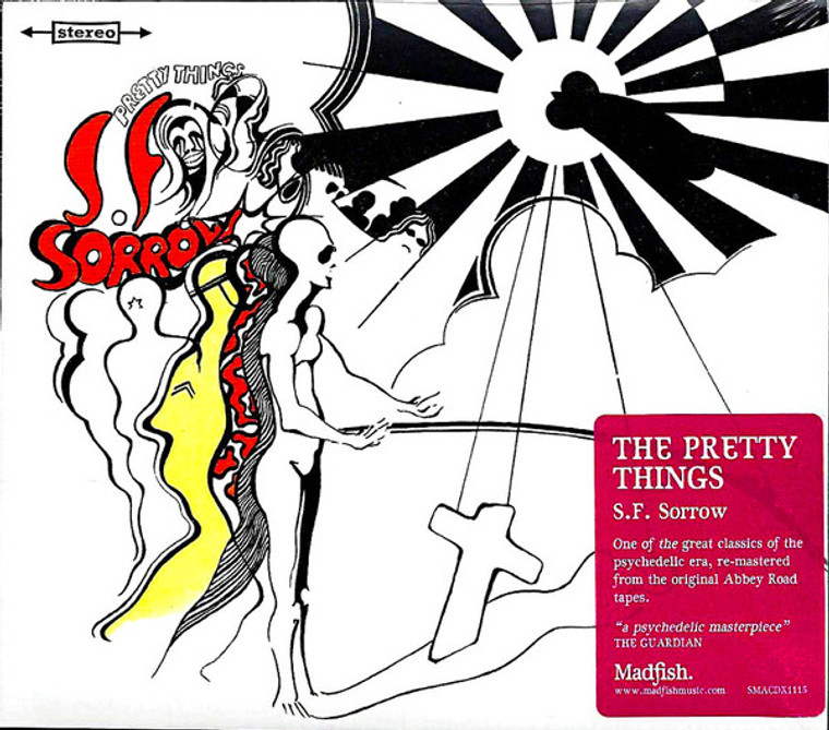 """PRETTY THINGS  -S.F SORROW (""""A psychedelic masterpiece"""")  CD"""
