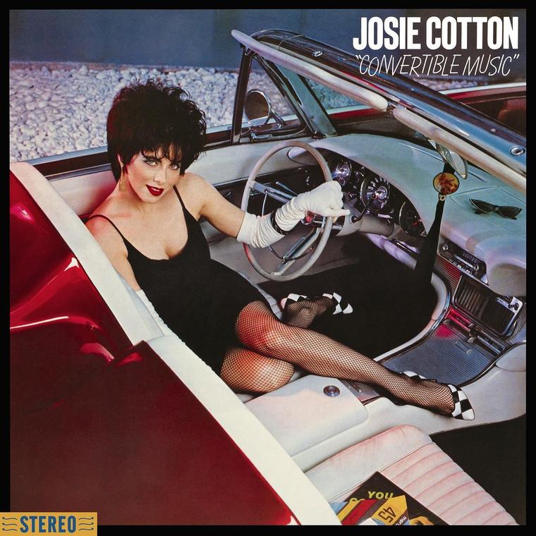 JOSIE COTTON - Convertible Music with bonus track (classic California 80s girl-pop) DIGIPACK  CD