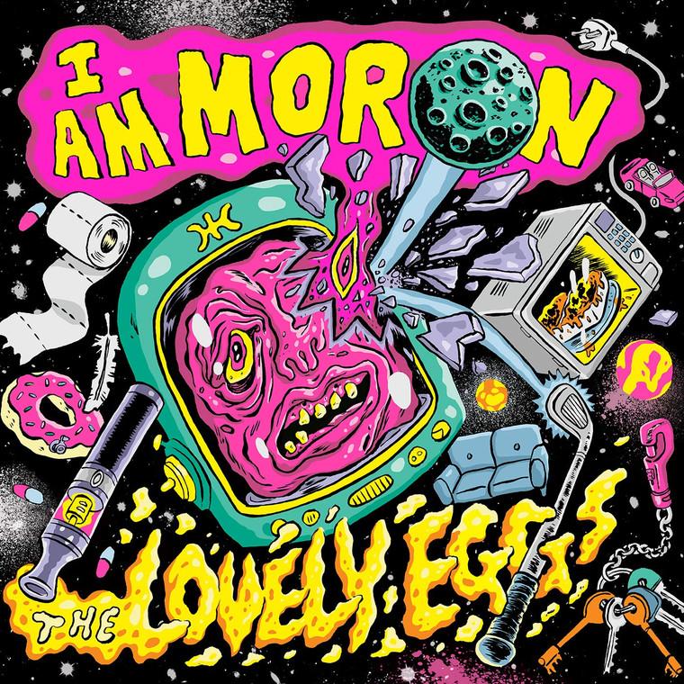 LOVELY EGGS  -I Am Moron(heavy psych/pop)  CD