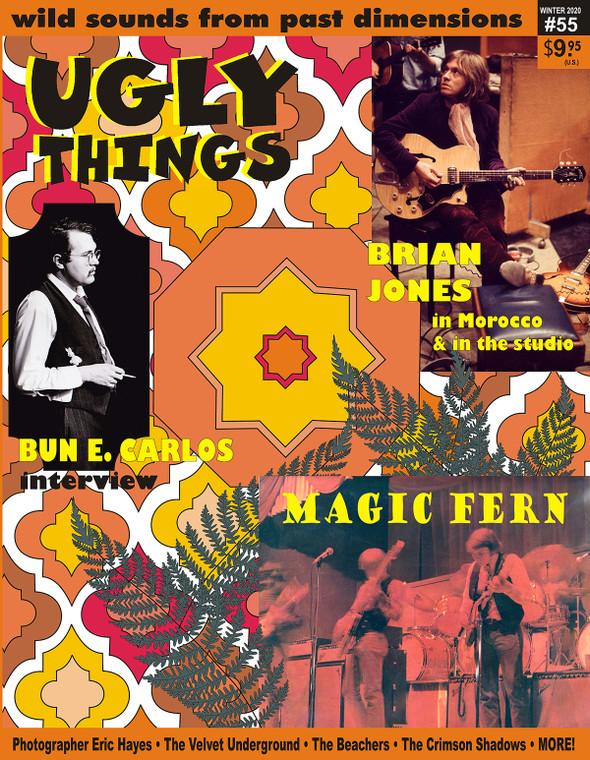 UGLY THINGS  - 55 - MAGIC FERN, BRIAN JONES  -BOOKS & MAGS