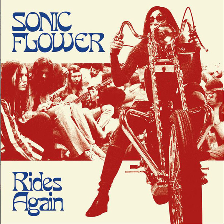 SONIC FLOWER  -Rides Again (psychedelic groove, rock, funk, and doom metal)   CD