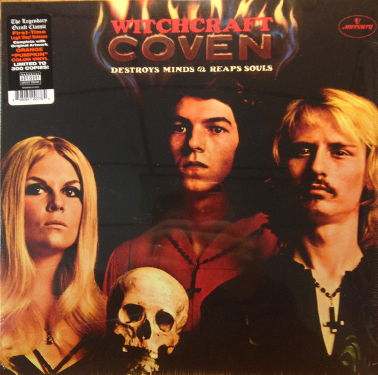 COVEN (USA)   -(USA) WITCHCRAFT DESTROYS MINDS AND REAPS SOULS (1969)  LP