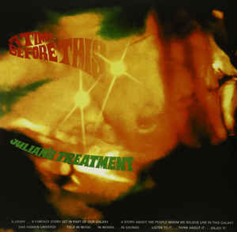 JULIAN'S TREATMENT   - A TIME BEFORE THIS ( spacy 70s prog rock) DBL LP GATEFOLD