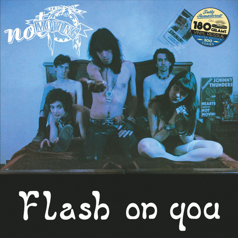 NOT MOVING  -FLASH ON YOU (80s Italian garage punk)  LP