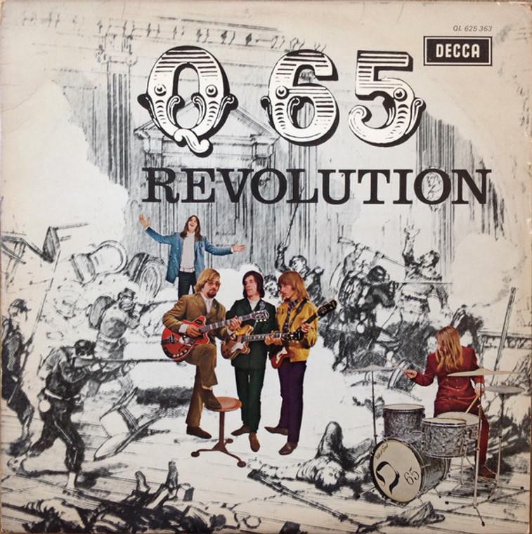Q65  -REVOLUTION(MONO) BLACK VINYL   LP