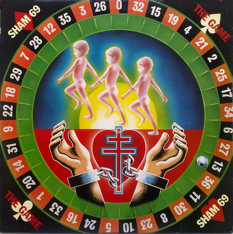 SHAM 69- The Game   (1996 release) CD