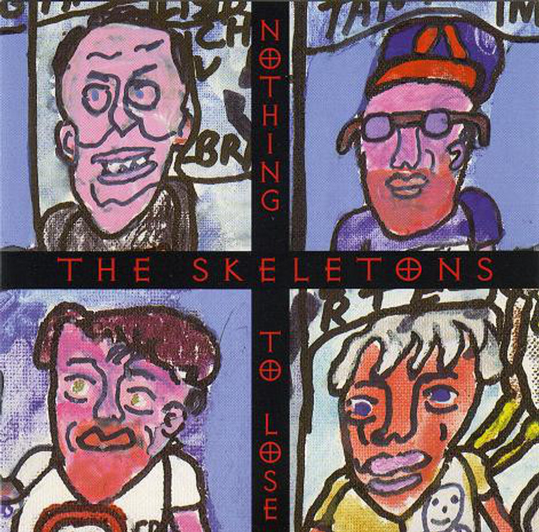 SKELETONS  -Nothing to Lose (American roots music)  CD