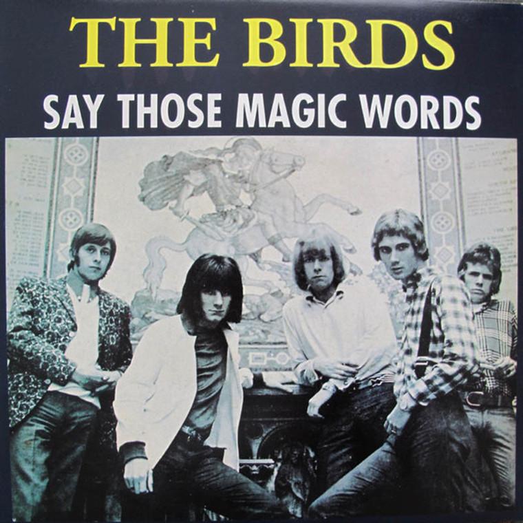 BIRDS  -SAY THOSE MAGIC WORDS - BLUE VINYL  LP