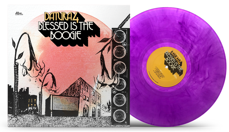 DATURA4  -BLESSED IS THE BOOGIE -PURPLE  VINYL LTD ED-  70s style psych  LP