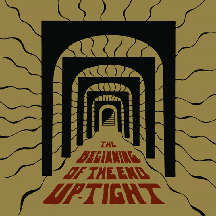 UP-TIGHT   -THE BEGINNING OF THE END (Japanese psych guitar freakout!)  CD