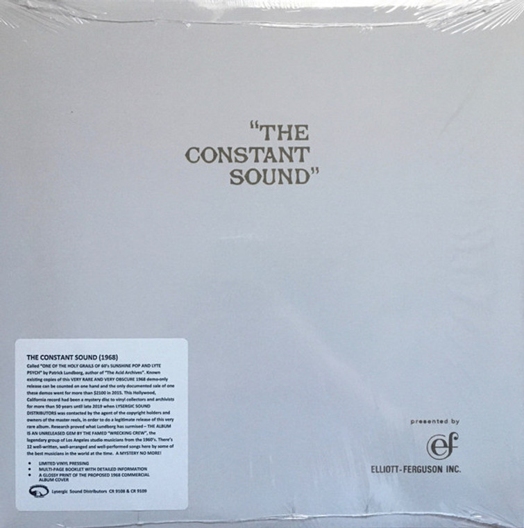 CONSTANT SOUND  -One of the Holy Grails of 1960s sunshine pop and lyte psych. - Patrick Lundborg, The Acid Archive  LP