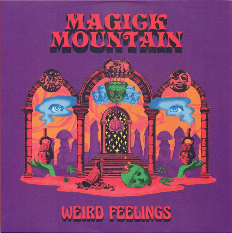 MAGICK MOUNTAIN  -WEIRD FEELINGS (kick-ass, fuzzed out, psych proto-punk)  LP