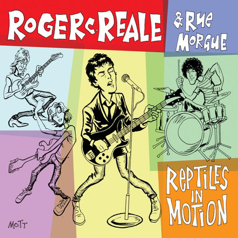 ROGER C REALE  -Reptiles in Motion (punk/power pop)  GATEFOLD  LP