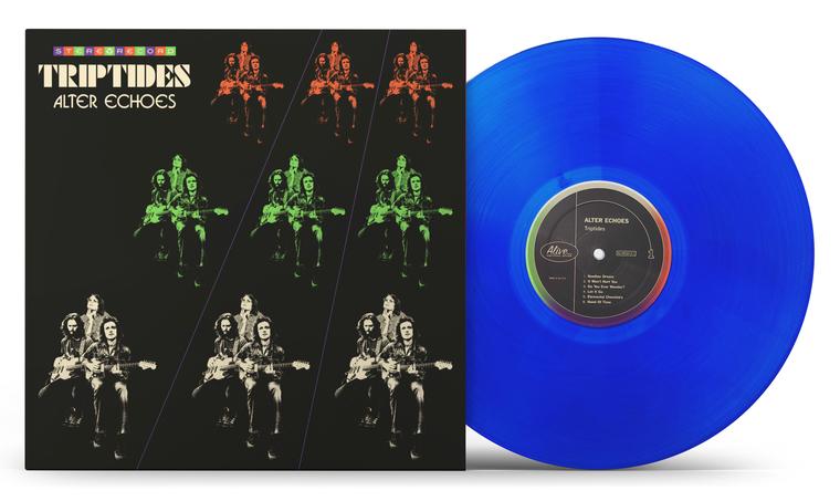 TRIPTIDES  -Alter Echoes (hallucinogenic psych pop)BLUE VINYL   LP