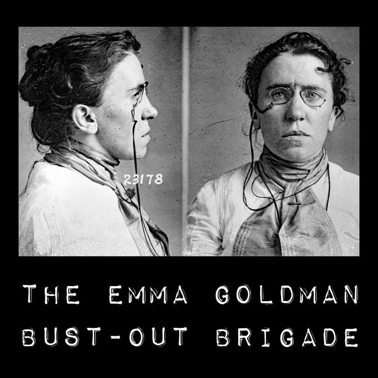 EMMA GOLDMAN BUST-OUT BRIGADE   -ST (free improv/punk rock weirdness)   LP