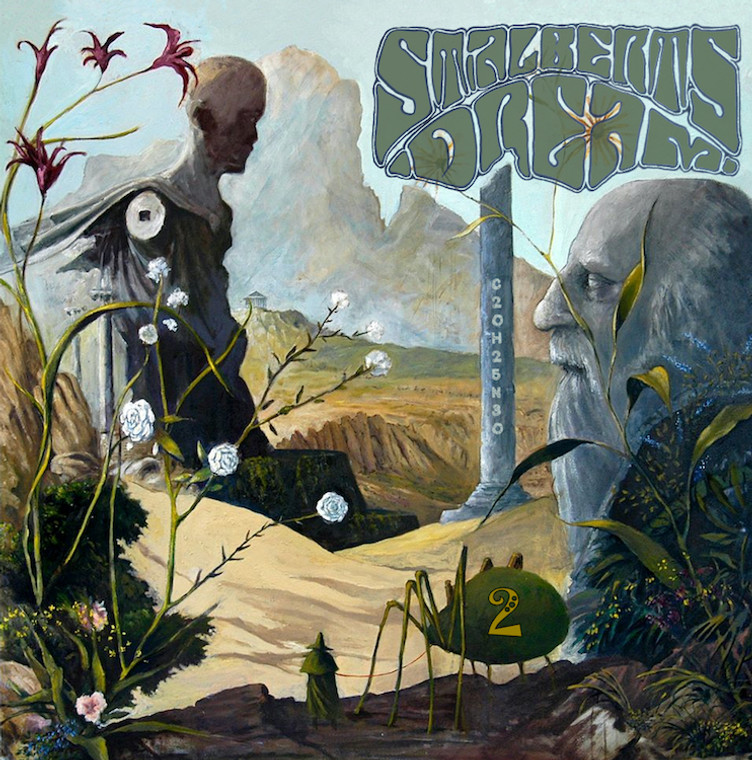 ST. ALBERT'S DREAM  - Vol. 2: Lucid Electric Prophet- with BOOKLET - COMP LP